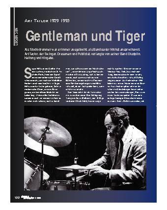 Gentleman und Tiger