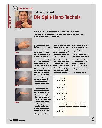 Die Split-Hand-Technik