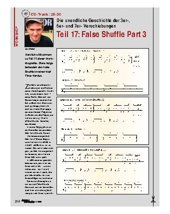 Teil 17: False Shuffle Part 3