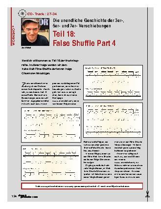 Teil 18: False Shuffle Part 4