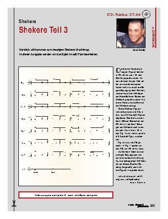 Shekere (Teil 3)