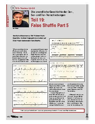 Teil 19: False Shuffle Part 5