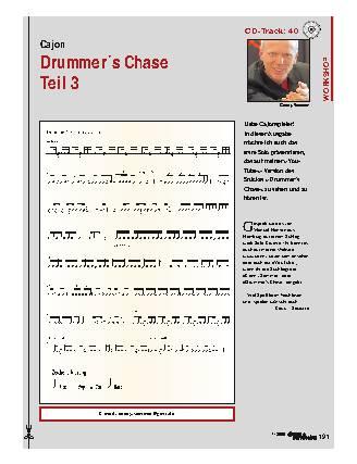 Drummer's Chase - Teil 3
