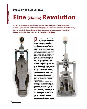 Eine (kleine) Revolution