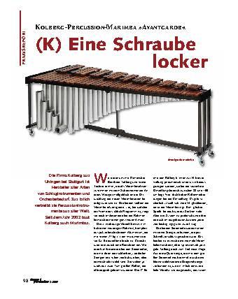 (K) Eine Schraube locker