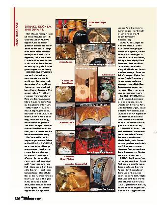 Drums, Becken, Hardware