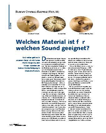 Welches Material ist für welchen Sound geeignet?