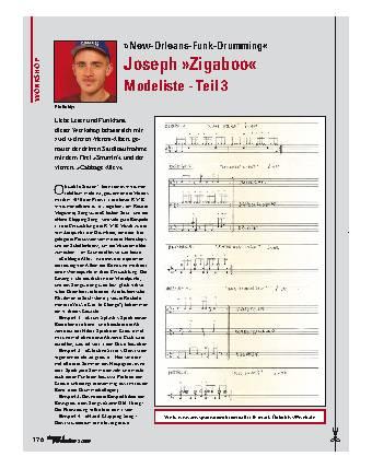 Joseph Zigaboo Modeliste - Teil 3