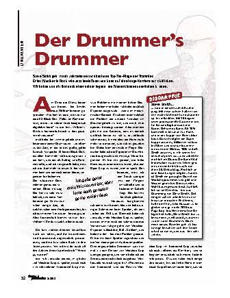 Der Drummer's Drummer