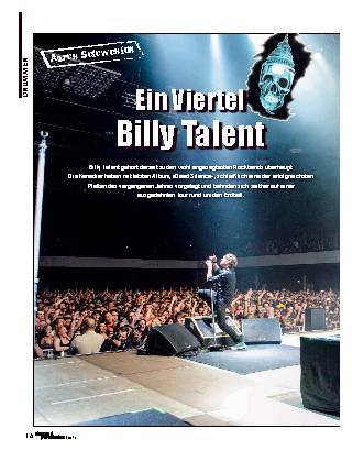 Ein Viertel Billy Talent
