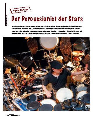 Der Percussionist der Stars
