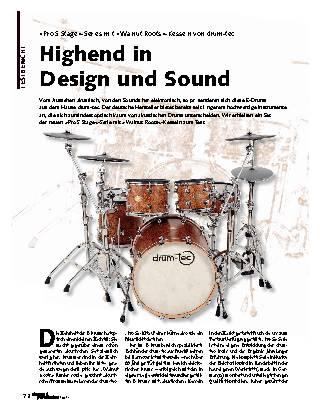 Highend in Design und Sound