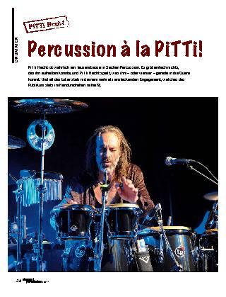 Percussion à la PiTTi!