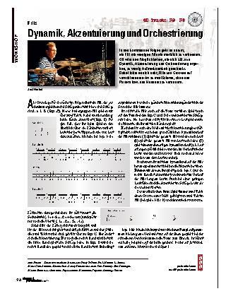 Dynamik, Akzentuierung und Orchestrierung