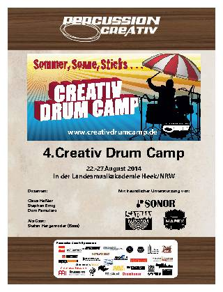 4.Creativ Drum Camp