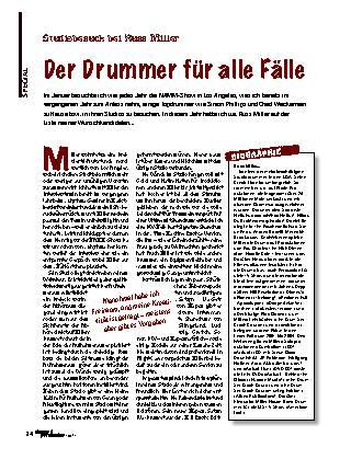 Der Drummer für alle Fälle