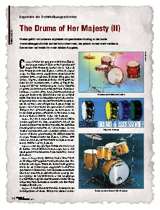 The Drums of Her Majesty (II)