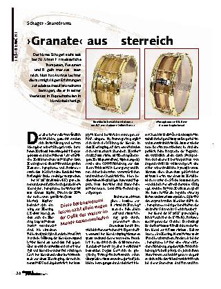 Granate aus Österreich