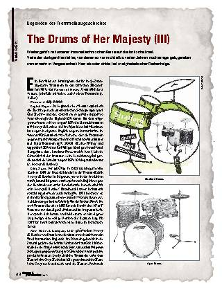 The Drums of Her Majesty (III)