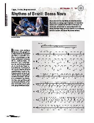 Rhythms of Brazil: Bossa Nova