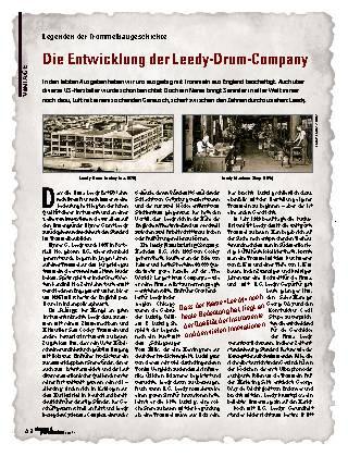 Die Entwicklung der Leedy-Drum-Company