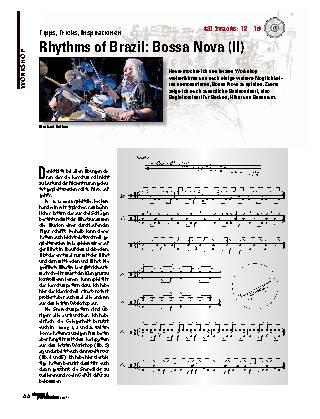 Rhythms of Brazil: Bossa Nova (II)
