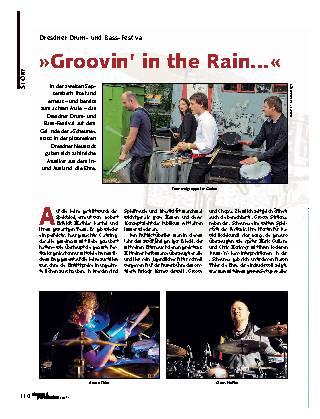 Groovin' in the Rain...