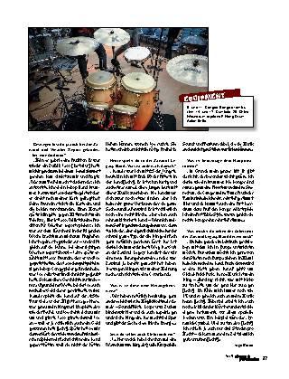 Der Bebop-Hand-Drummer