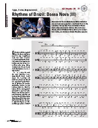 Rhythms of Brazil: Bossa Nova (III)