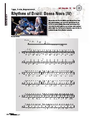 Rhythms of Brazil: Bossa Nova (IV)