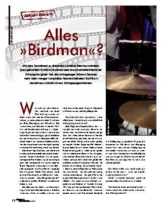 Alles »Birdman«?