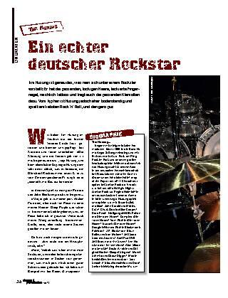 Ein echter deutscher Rockstar