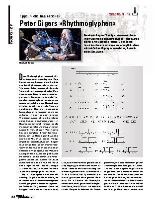 Peter Gigers »Rhythmoglyphen«