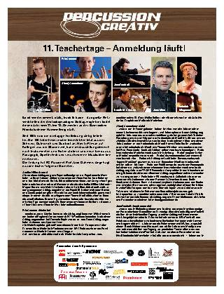 11. Teachertage – Anmeldung läuft!