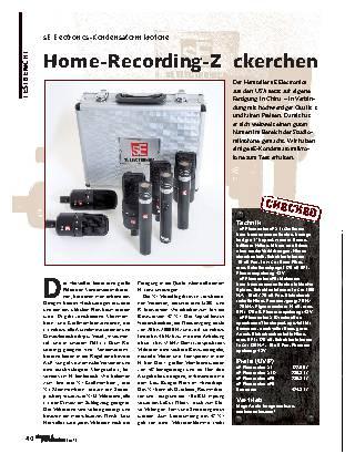 Home-Recording-Zückerchen