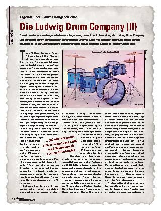 Die Ludwig Drum Company (II)