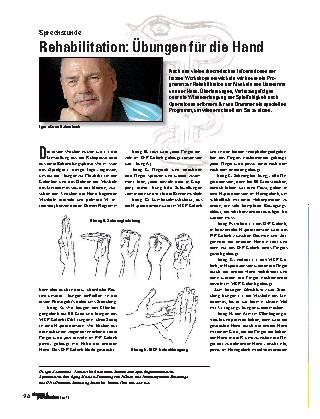 Rehabilitation: Übungen für die Hand