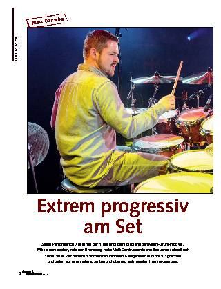 Extrem progressiv am Set