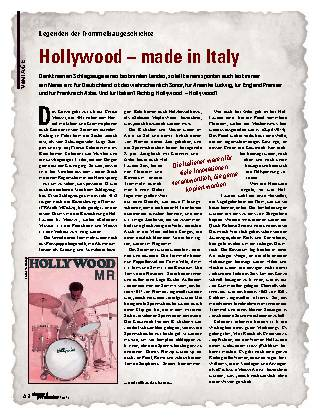 Hollywood – made in Italy