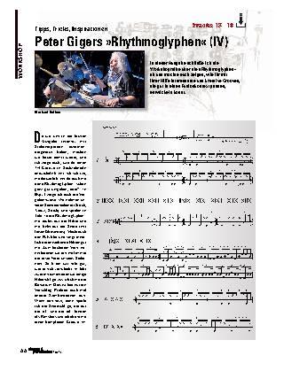Peter Gigers »Rhythmoglyphen« (IV)