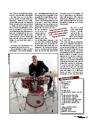 »Der coolste Schlagzeuger Deutschlands«