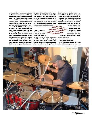 Einer, der auszog, die Drummerwelt zu erobern…