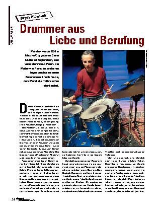 Drummer aus Liebe und Berufung