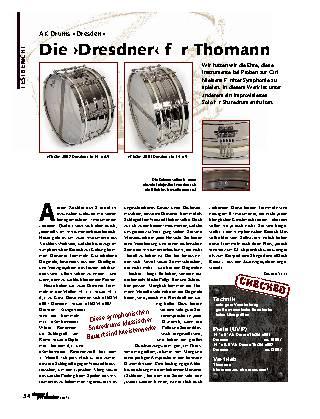 Die ›Dresdner‹ für Thomann