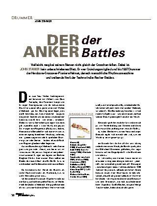Der Anker der Battles