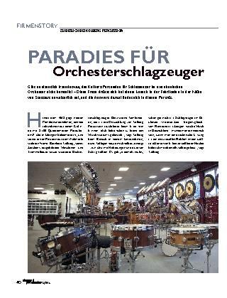 Paradies für Orchesterschlagzeuger