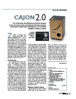 CAJON 2.0