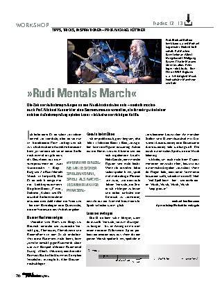 »Rudi Mentals March«