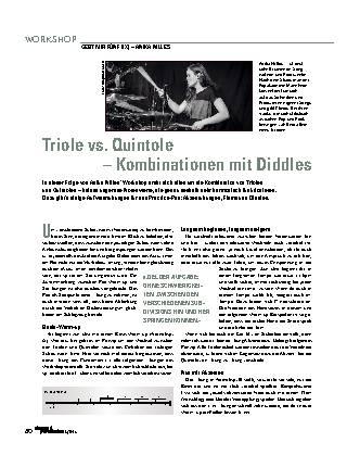 Triole vs. Quintole – Kombinationen mit Diddles