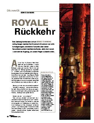 Royale Rückkehr